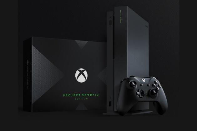 Xbox One X Scorpio pré-commande lancée