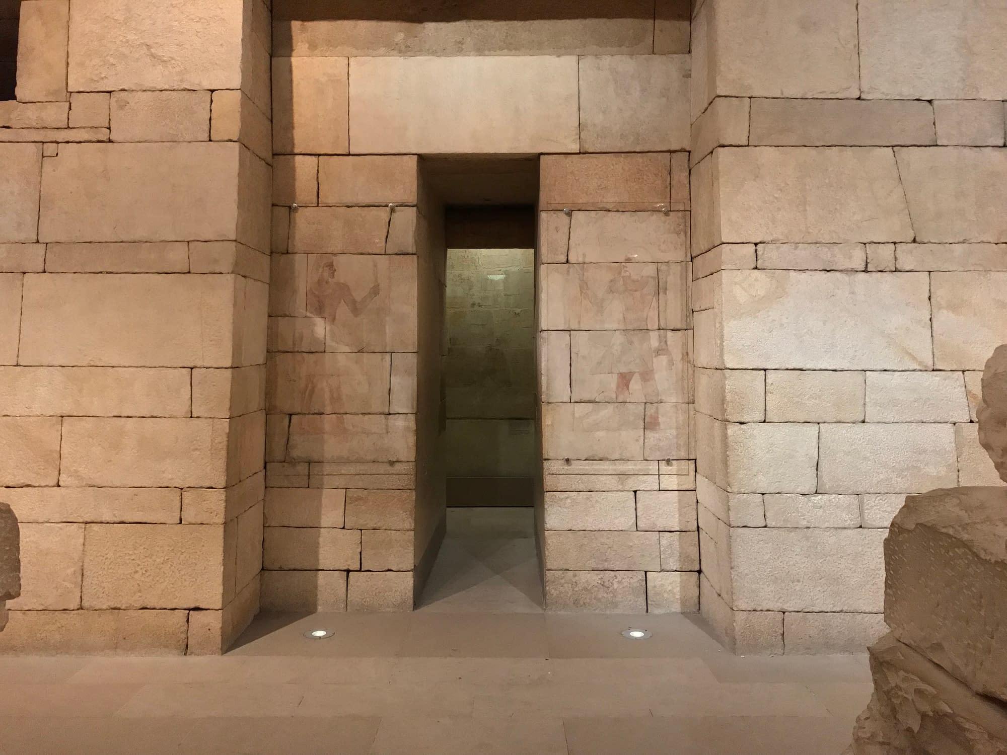 Tombeau Égypte metropolitan museum