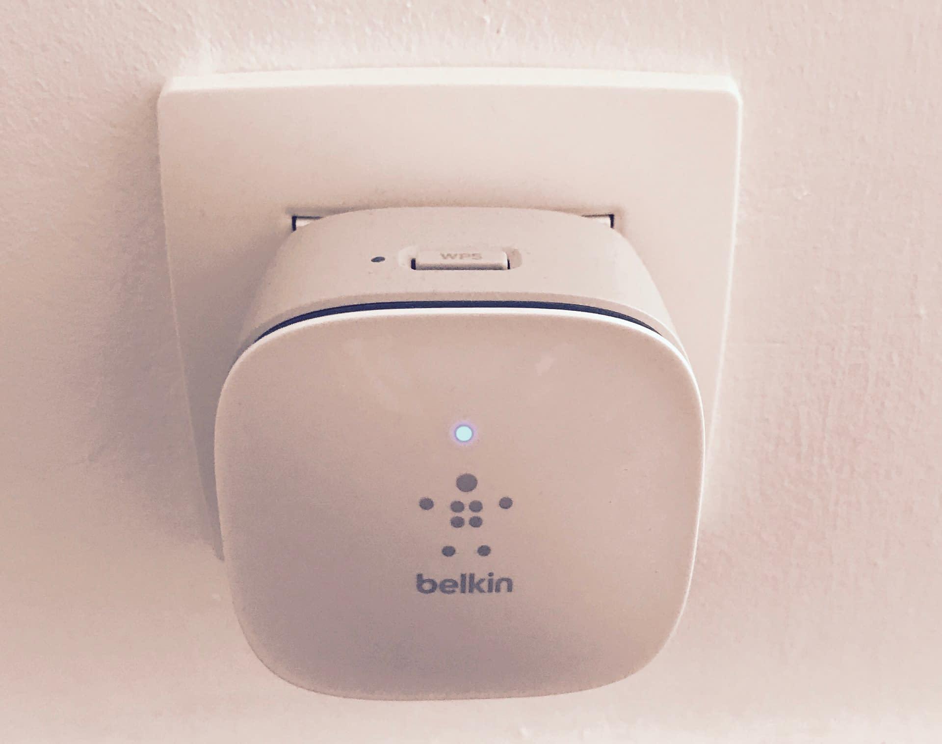 Belkin wifi repeater test F9K1015az